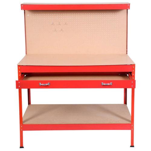 steel frame workbench tool storage workshop table tools table 1256 4 - Workbench Frame