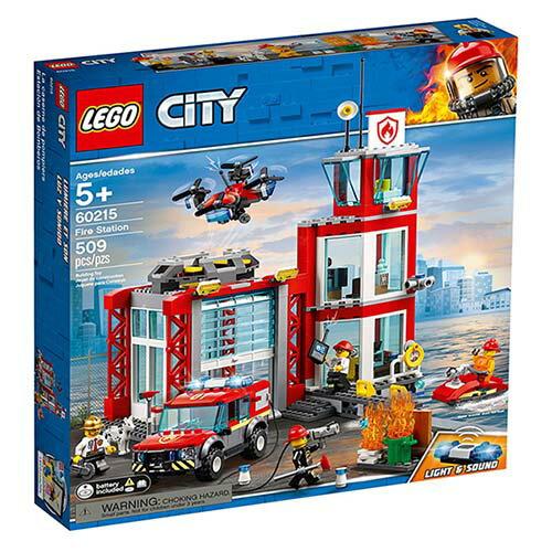 樂高LEGO 60215 City Fire 城市系列 - 消防局 - 限時優惠好康折扣