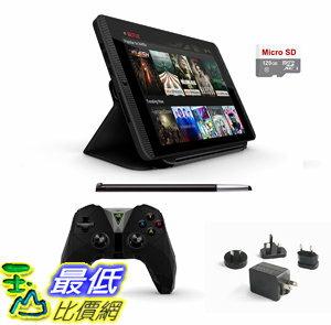 [106美國直購] 套裝 Nvidia Shield Tegra K-1 16GB Gamer Tablet Complete Traveler\