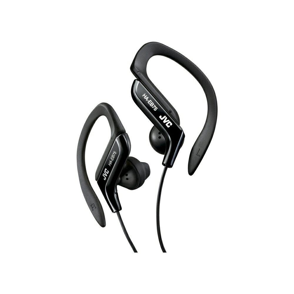 JVC 運動型防水耳掛耳機 HA-EB75 黑