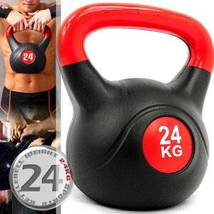 24公斤壺鈴KettleBell重力(52.9磅)24KG壺鈴.拉環啞鈴搖擺鈴.舉重量訓練.運動健身器材.推薦哪裡買C109-2124