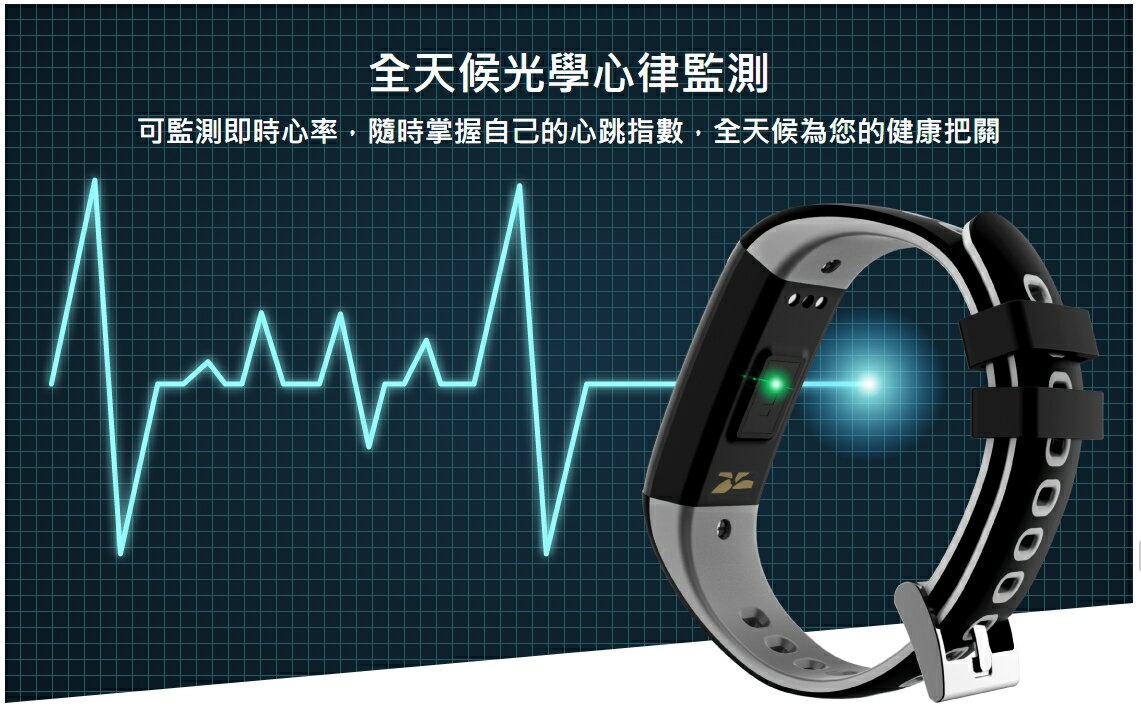 GOLiFE Care-Xe 智慧悠遊觸控心率手環 公司貨 悠遊卡 心律監測 遠控拍照 IP66 / IP67防水防塵 6