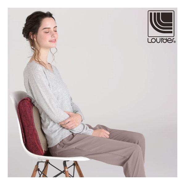Lourdes日式溫熱揉捏按摩抱枕(玫瑰紅)188RP【禮物推薦】 1