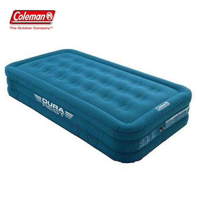 【露營趣】中和安坑 Coleman CM-21936 DURAREST TWIN加厚氣墊床 充氣床
