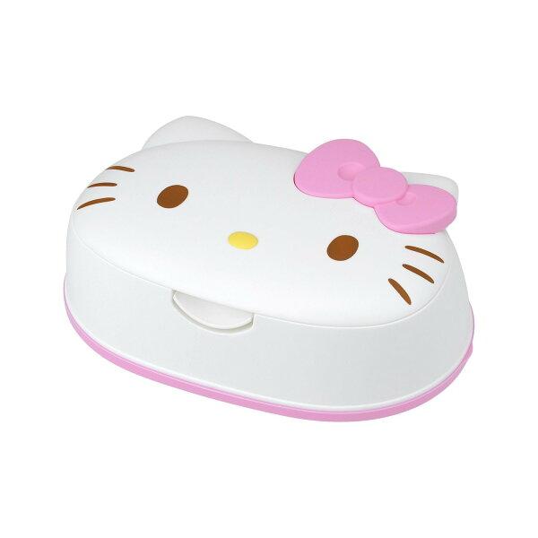 X射線 精緻禮品:X射線【C482302】HelloKitty頭型濕紙巾附盒(80枚),嬰兒濕紙巾溫濕紙巾衛生紙面紙經期用濕紙巾隨身包