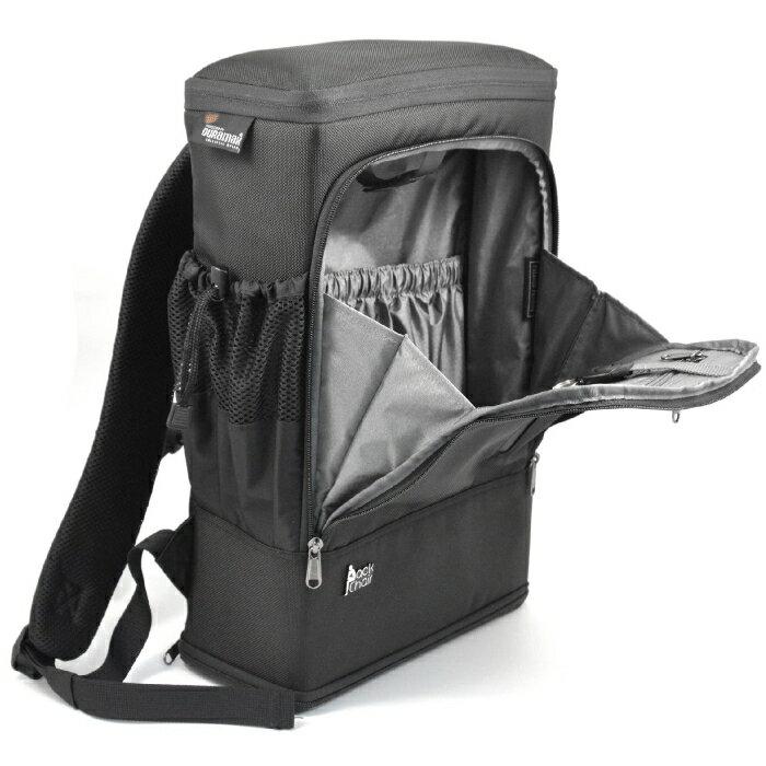 PackChair椅子包 盾牌包 防身包 電腦包 後背包 自助旅行包 黑色有胸扣版 8