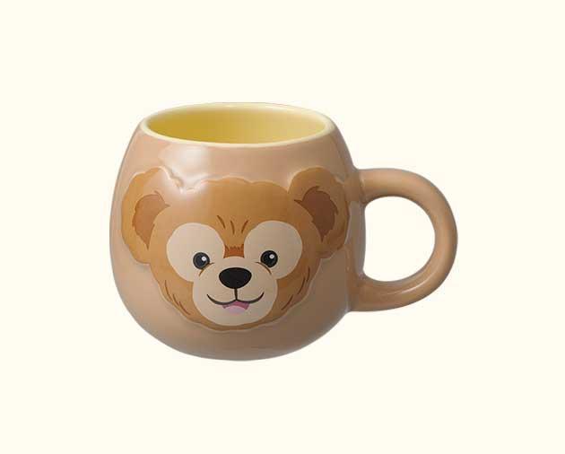 X射線【C010003】日本東京迪士尼樂園代購-Duffy達菲圓滾馬克杯,陶瓷杯/水杯/玻璃杯/茶杯/咖啡杯/交換禮物