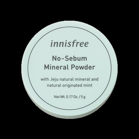 innisfree 礦物控油蜜粉5g 綠盒蜜粉