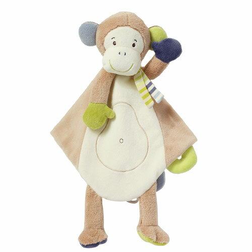 babygo:芬恩Babyfehn-叢林夥伴小猴安撫布偶奶嘴巾FN081305