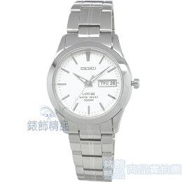 SEIKO 手錶 SGG713P1 精工表 白面 藍寶石鏡面 夜光 經典 男錶