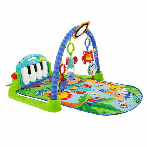 【奇買親子購物網】費雪牌 Fisher 可愛動物小鋼琴健身器