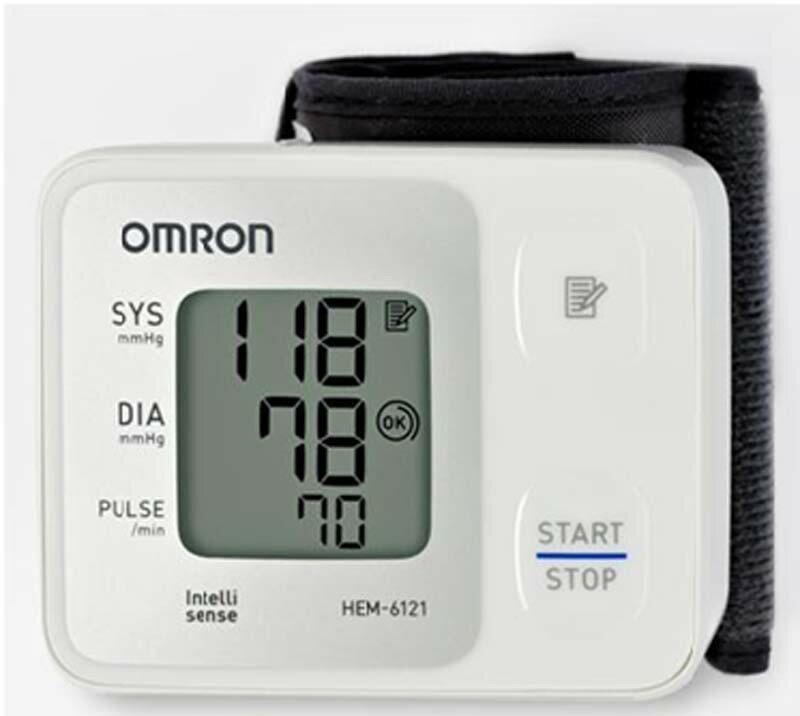 歐姆龍血壓計HEM-6121,登錄三年保固,網路不販售