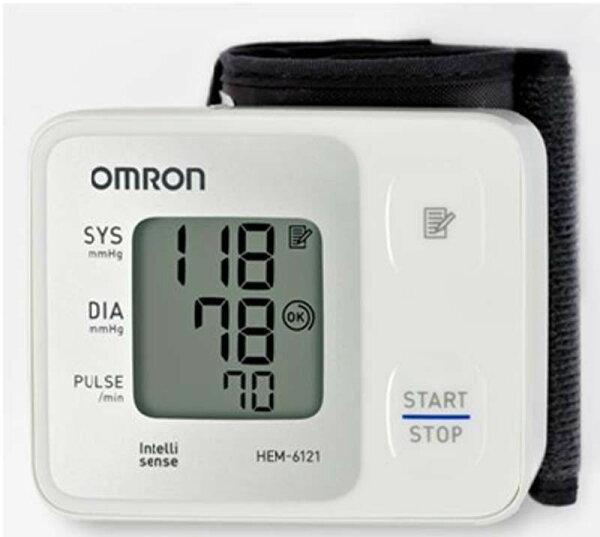 歐姆龍血壓計HEM-6121,登錄三年保固,來店驚喜價
