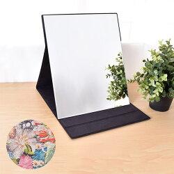 凱堡 伊甸花園化妝鏡/摺疊鏡/桌鏡(大型31x26)【H10003】