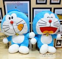 小叮噹週邊商品推薦【UNIPRO】哆啦A夢 Doraemon 立體 絨毛後背包 裝飾背包 小叮噹 禮物