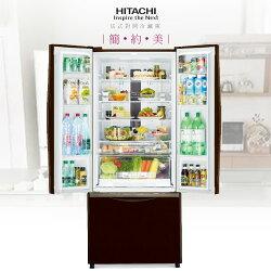 【仲夏時尚禮】HITACHI 日立 RG470 琉璃棕/琉璃瓷/琉璃白 483L 電冰箱