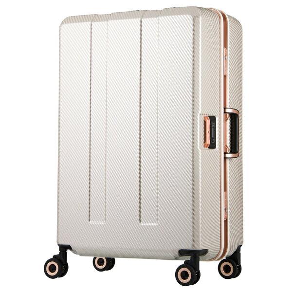 日本LEGENDWALKER6703N-70-29吋寶貝輪秤重箱碳纖白