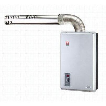 [滿3千,10%點數回饋]櫻花 SAKULA 12公升 FF式數位恆溫 強制排氣 SH-1288【雅光電器】