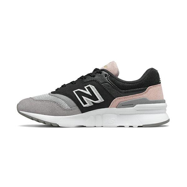 【NEW BALANCE】NB 997H 休閒鞋 麂皮 復古鞋 經典復刻鞋 粉灰黑 女鞋 -CW997HALB