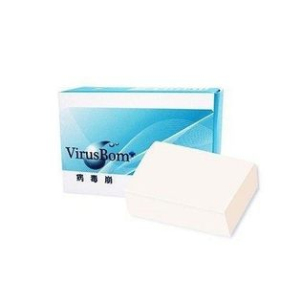 VirusBom病毒崩白麝香燕麥皂100g盒◆德瑞健康家◆