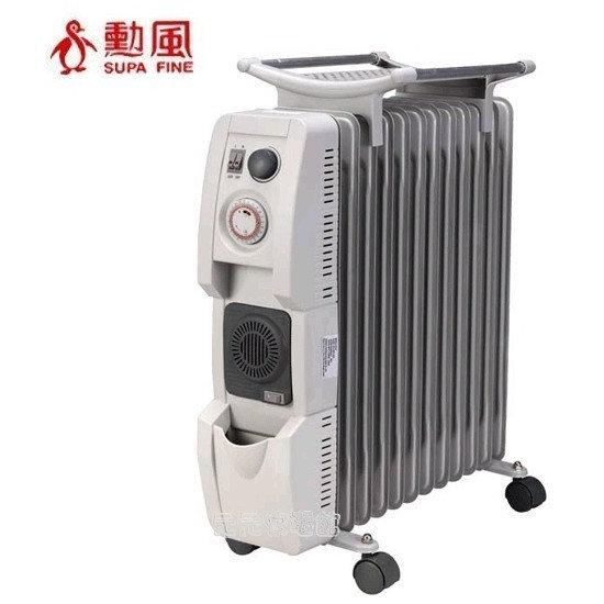 SUPA FINE 勳風 12葉片 恆溫陶瓷電暖器 HF~2112