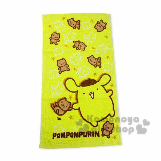 〔小禮堂〕布丁狗 兒童毛巾《M.黃.小栗鼠》100%棉.28*54(cm)