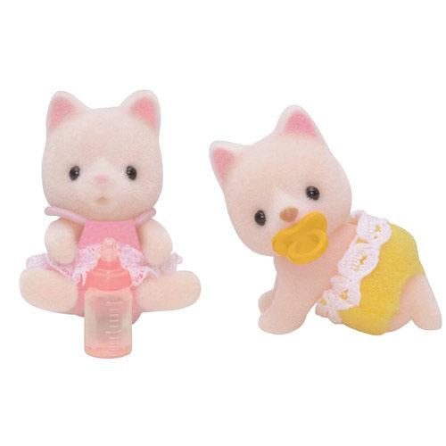 《 森林家族 - 日版 》牛奶貓雙胞胎