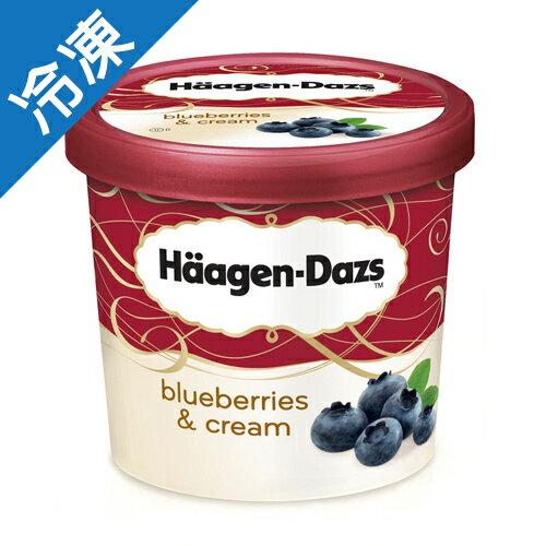 哈根達斯 冰淇淋迷你杯 藍莓 100ml【愛買冷凍】