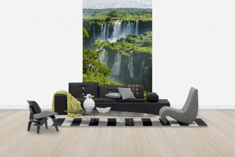 巴西 伊瓜蘇瀑布 風景畫  壁畫 訂製 客製 壁畫  e24672