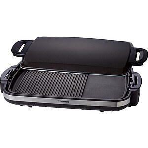 免運費象印分離式鐵板燒烤組烤肉爐電燒烤盤EA-DNF10