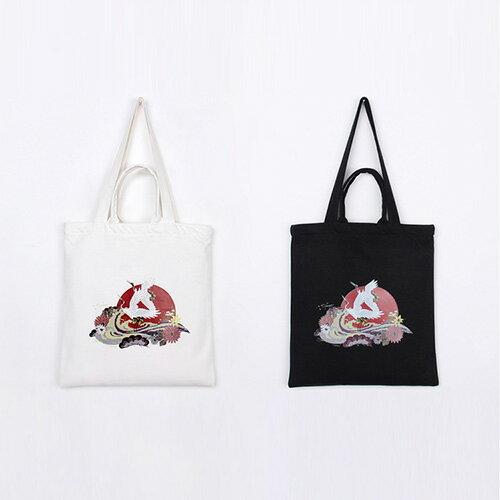 手提包 手提包 帆布袋 手提袋 環保購物袋--手提/單肩/拉鏈【SPA95】 BOBI  10/06 0