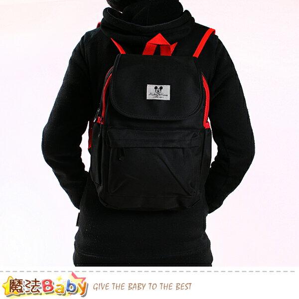 休閒背包大學生背包迪士尼米奇正版雙肩大背包魔法Baby~f0271