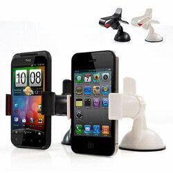 【迪特軍3C】IP-MA6 智慧型手機專用 夾式吸盤車架-白色/黑色 (IP-MA6)