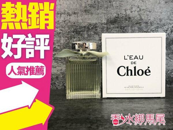 ChloeL'EaudeChlo水漾玫瑰女性淡香水100MLTESTER◐香水綁馬尾◐