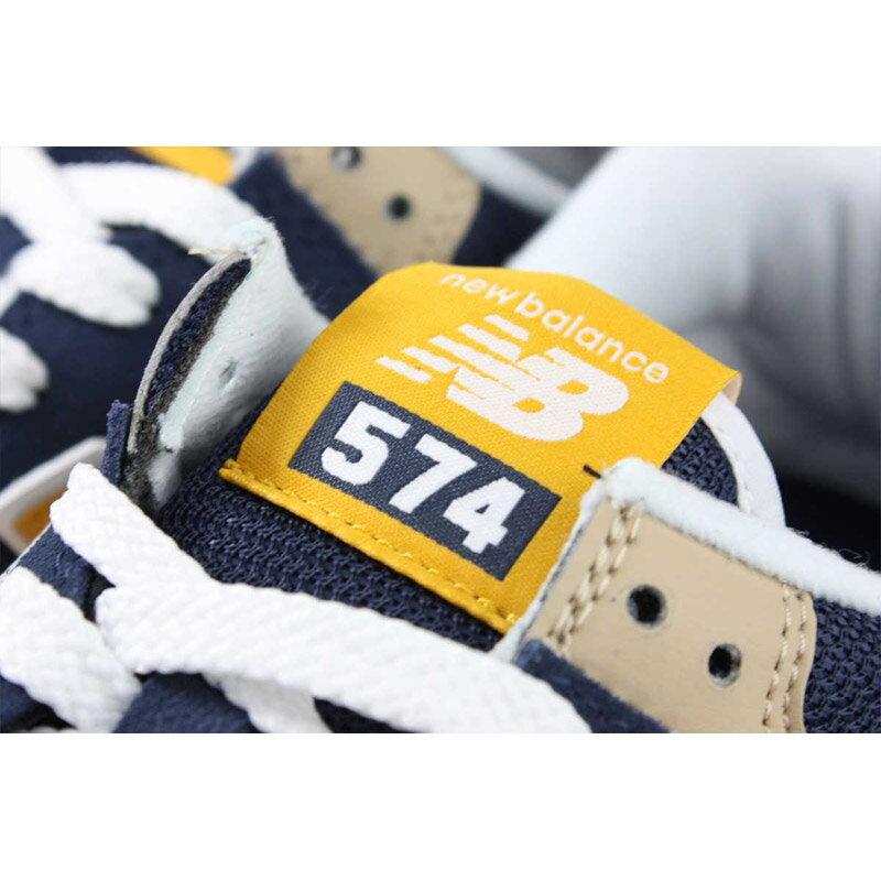 NEW BALANCE 574系列 運動鞋 復古鞋 深藍 / 黃 男鞋 ML574SPF-D no709 6
