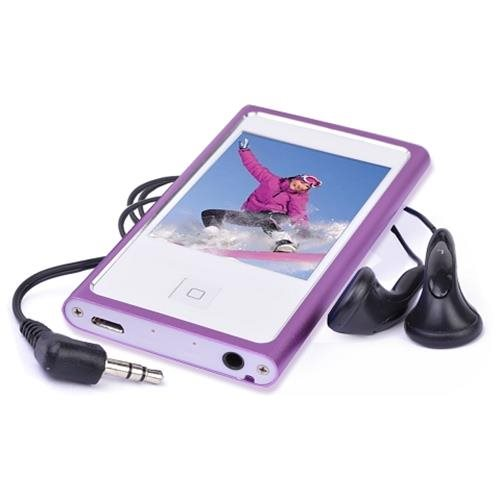 "Eclipse Touch Pro Lilac 4GB 2.4"" Touch Pro MP3 + Video Player (Lilac) 1"