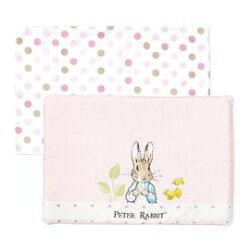 奇哥花園比得兔乳膠枕/嬰兒枕/趴睡枕 (附枕套) (粉色) 675元
