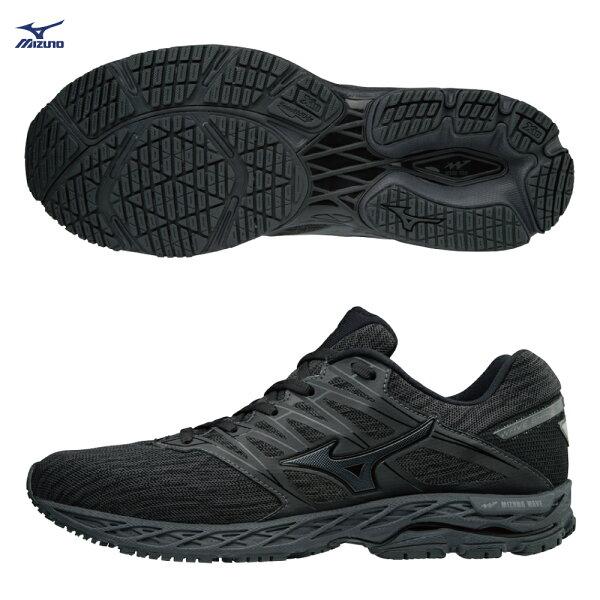 J1GC183051(黑)WAVESHADOW2男慢跑鞋【美津濃MIZUNO】