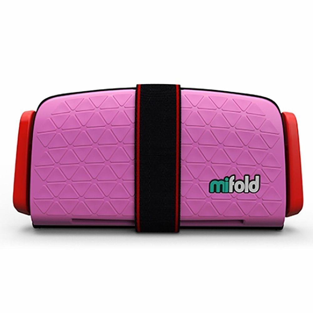 【淘氣寶寶】美國 mifold 隨身安全座椅 粉色【保證公司貨】 - 限時優惠好康折扣