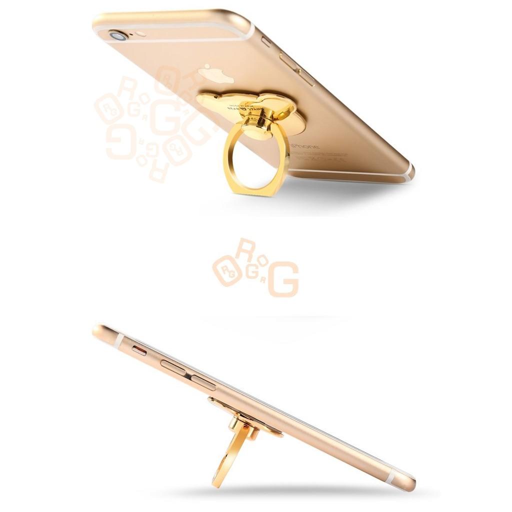 ORG《SD0582》金屬款~小熊 熊熊 手機 平板 指環 指環支架 指環扣 手機支架 6s iPhone7 索尼 三星 4