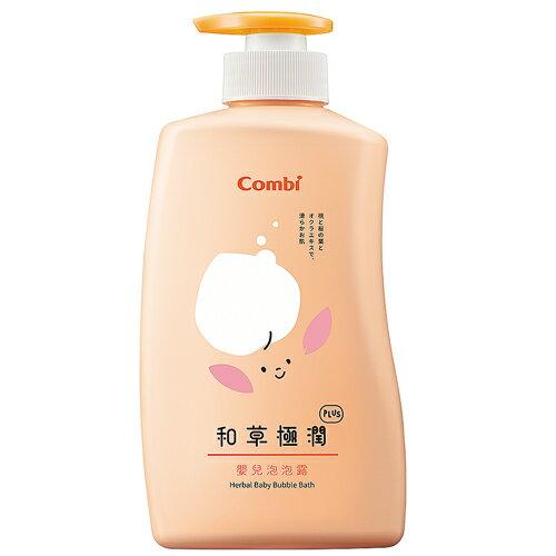 Combi 和草極潤嬰兒泡泡露plus-500ml【618購物節】