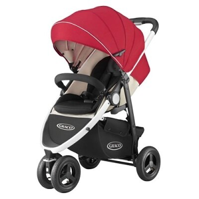 Graco 3W單向豪華型嬰幼兒手推車CITITREK-紅太陽