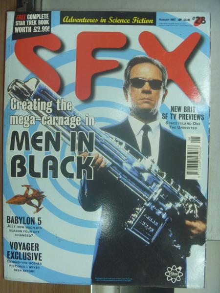 【書寶二手書T2/原文書_PEZ】SFX_1997/8_MEN IN BLACK等