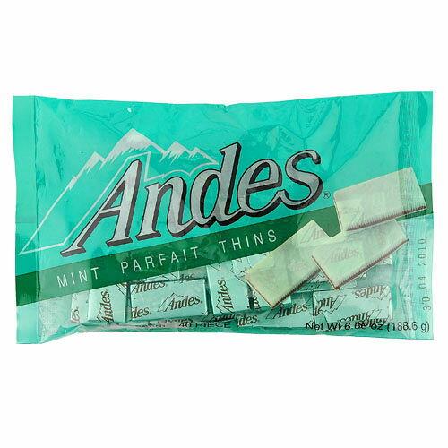 安迪士Andes巧克力薄片~雙薄荷口味165g~愛買~