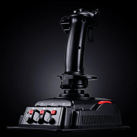 響尾蛇6號飛行搖桿飛行遊戲桿JS3601V飛行操縱桿飛行器遊戲飛行器【迪特軍】