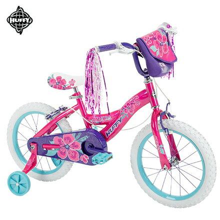 【美國HUFFY】2017新款女孩16吋自行車Pink(兒童自行車,腳踏車,輔助輪)
