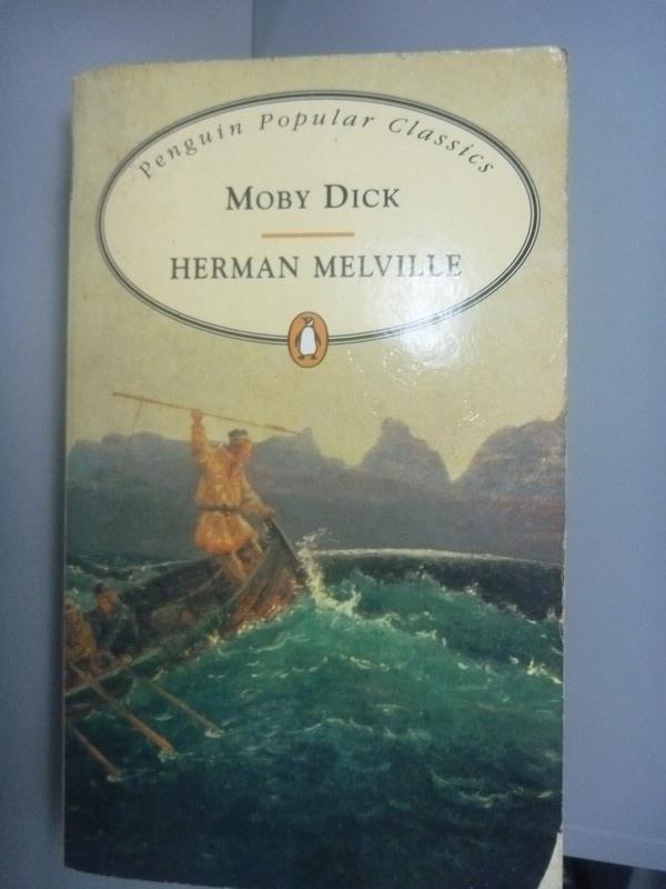 ~書寶 書T1/原文小說_KHX~Moby Dick_Herman Melville