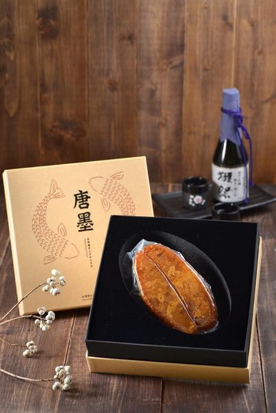 【唐墨烏魚子】(買)唐墨烏魚子-單片裝禮盒(150g±5%)*1 「再送 精緻小禮盒*1 (60g)」 2