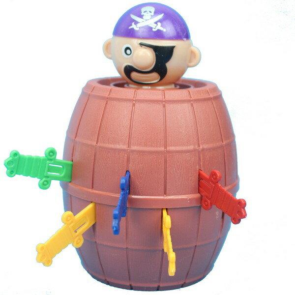 小海盜筒 YF555 千鈞一發海盜桶 / 一袋20個入 { 促40 }  插插樂 插劍桶 危機一發~CF132365 0