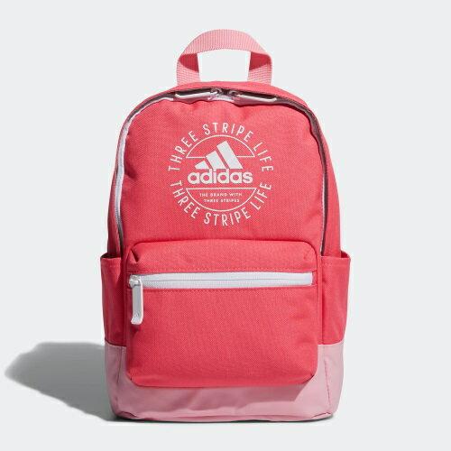 【滿額最高折318】【現貨】Adidas K CL BP INF 背包 後背包 小背包 休閒 粉【運動世界】EE1115
